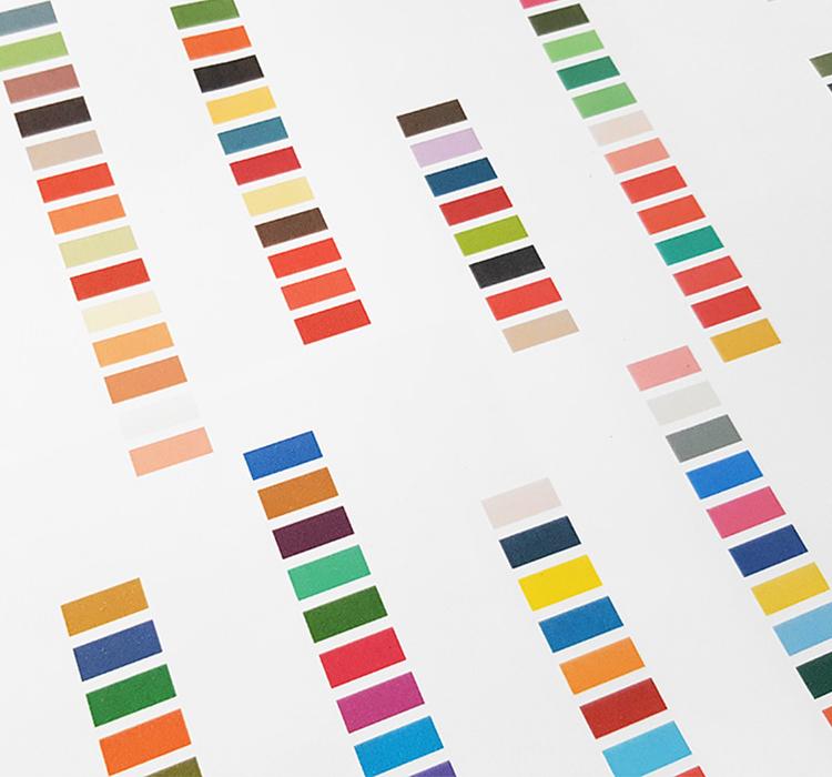 foulard lyon nuancier couleurs