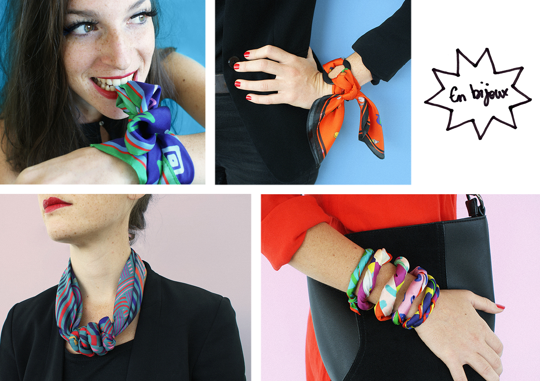 foulard lyon soie bijoux collier bracelet