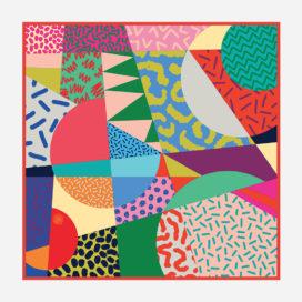 foulard lyon soie carre couleurs colorful africa