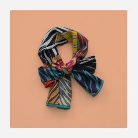 foulard lyon soie laura long