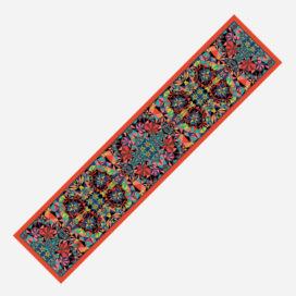 foulard lyon soie maelle echarpe