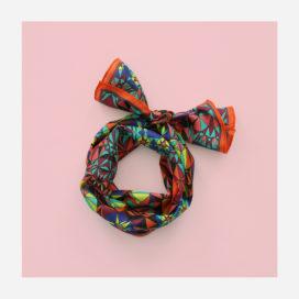 foulard lyon soie maelle long