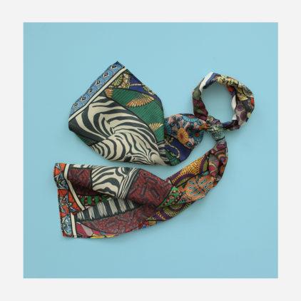 foulard lyon soie melina long