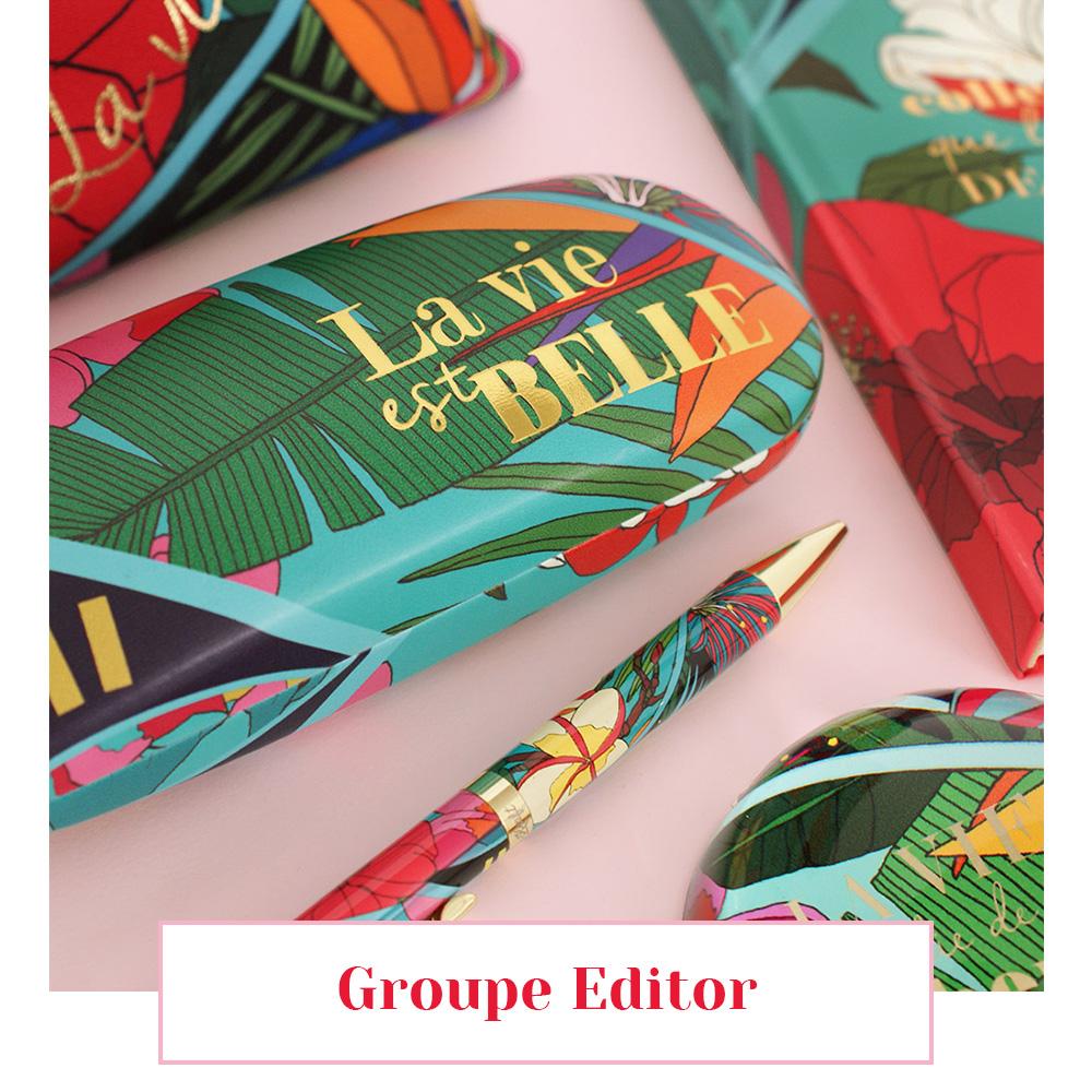 groupe editor collaboration soie motif foulard lyon