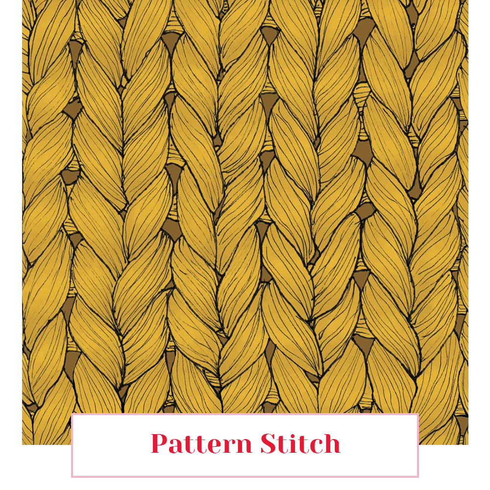 maille motif tissus foulard lyon