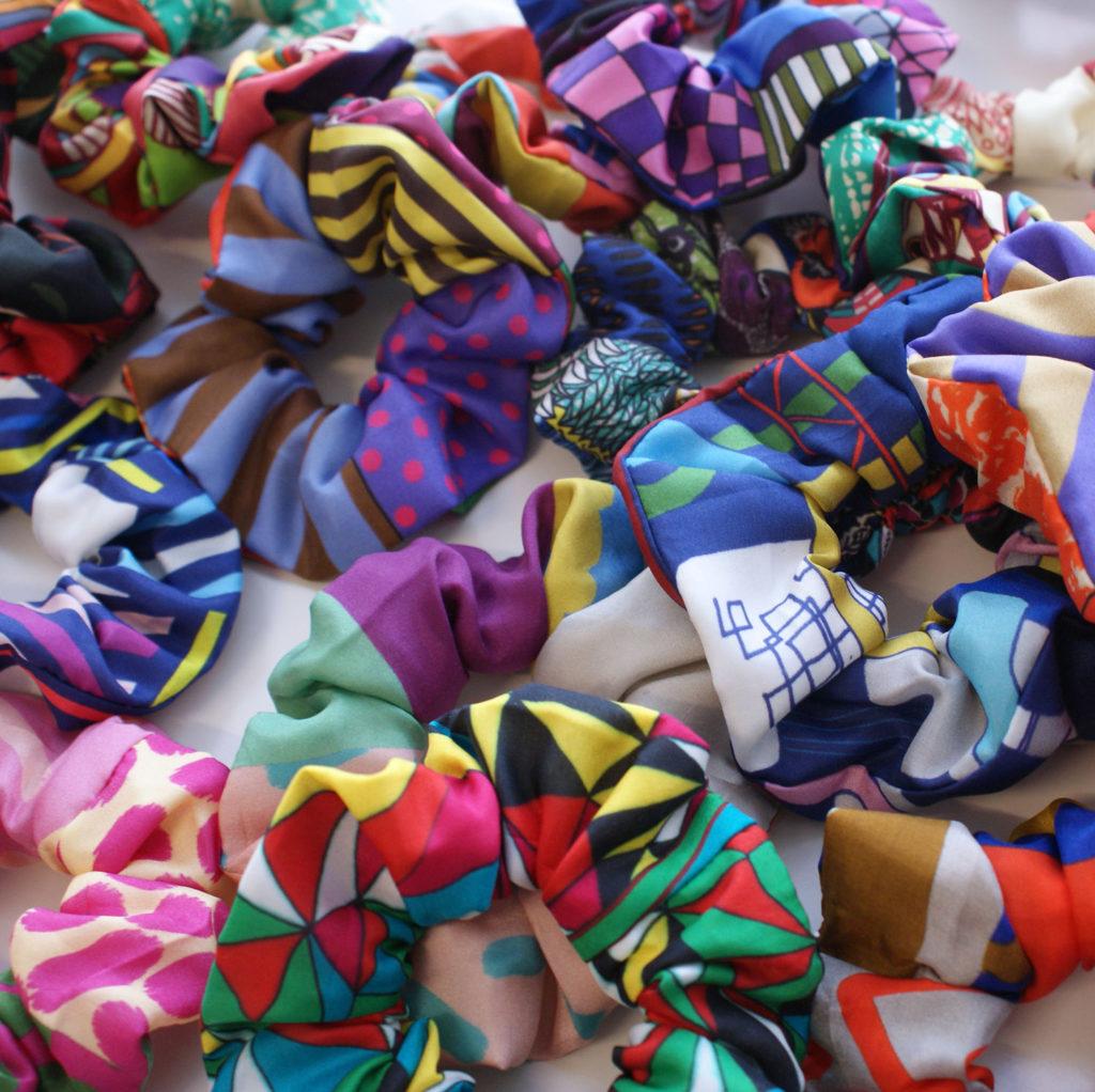 chouchou chute soie foulard lyon