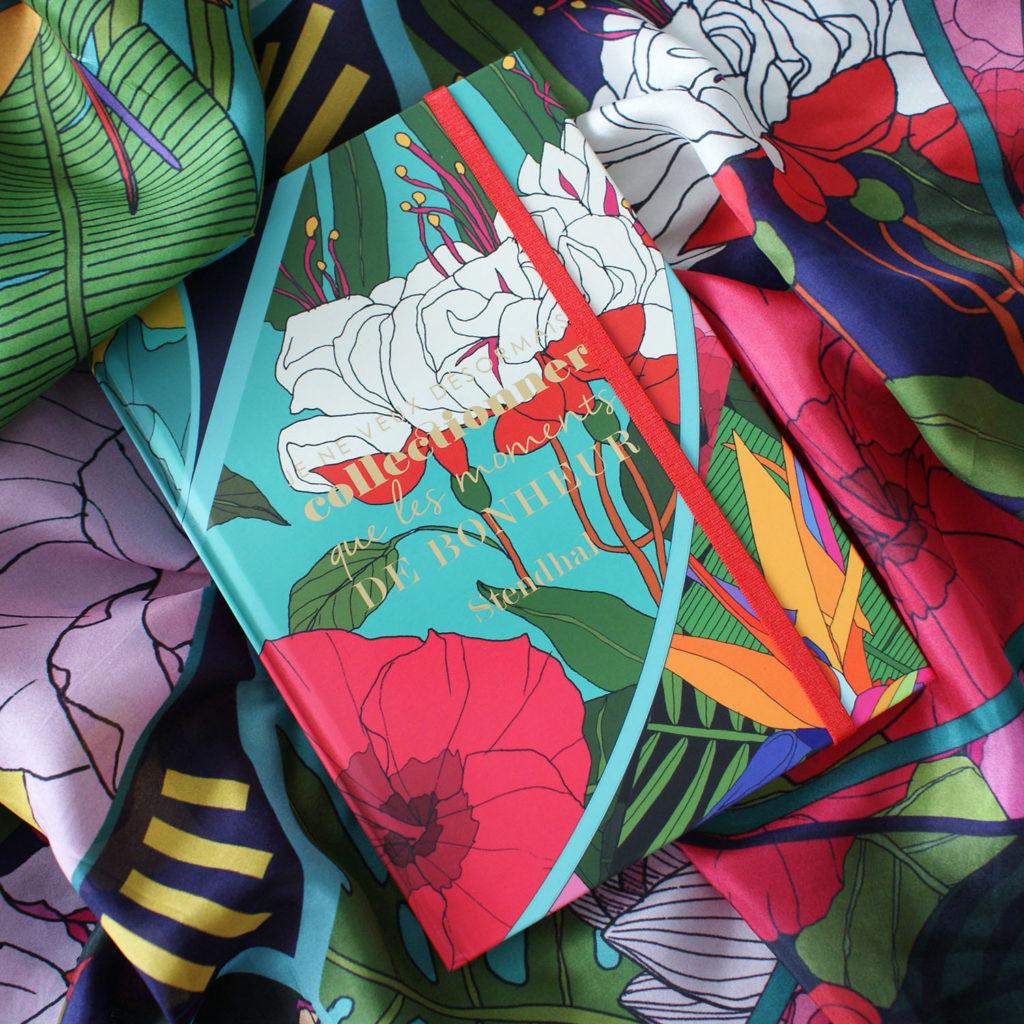 editor exotique foulard lyon carnet