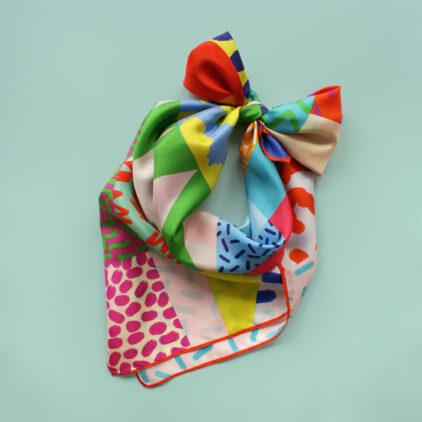 foulard colorful africa nouer carre femme lyon soie2