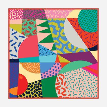 foulard doux colorful africa femme lyon soie
