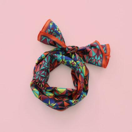 foulard maelle nouer carre femme lyon soie2